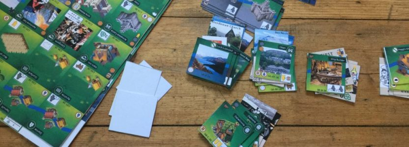 Entstehung eines Glen More II: Chronicles Prototypen