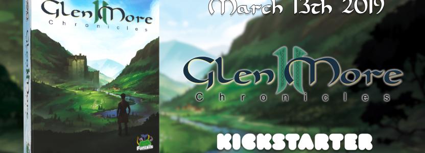 Glen More II: Chronicles Kickstarter Countdown startet