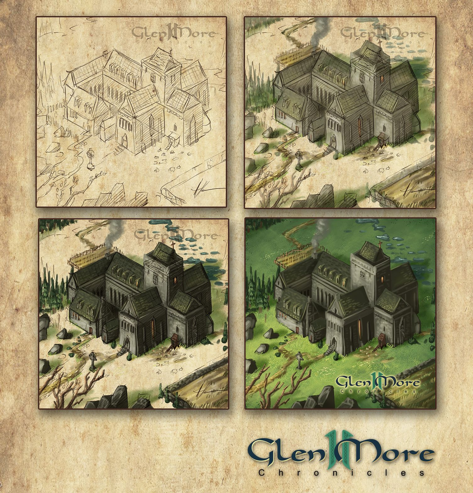 Hendrik Noack & die Kunst von Glen More II: Chronicles