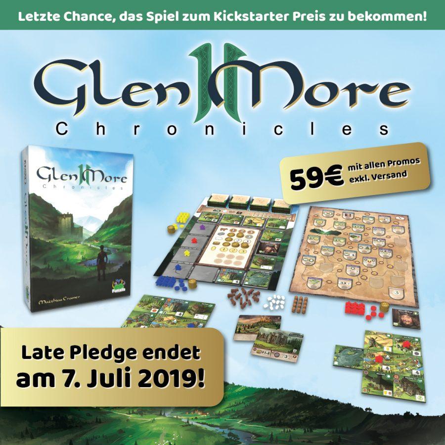 """""""Glen More II Chronicles"""" für 59 Euro mit allen Promos"""
