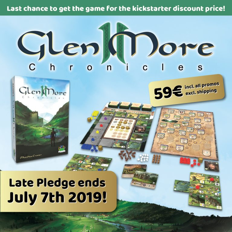 """Glen More II Chronicles"" for 59 Euro with all Promos"