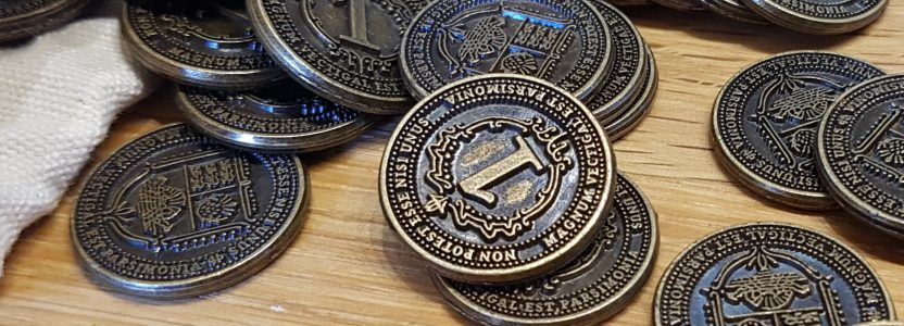 First pictures of the Gold Coins (add-on buy)