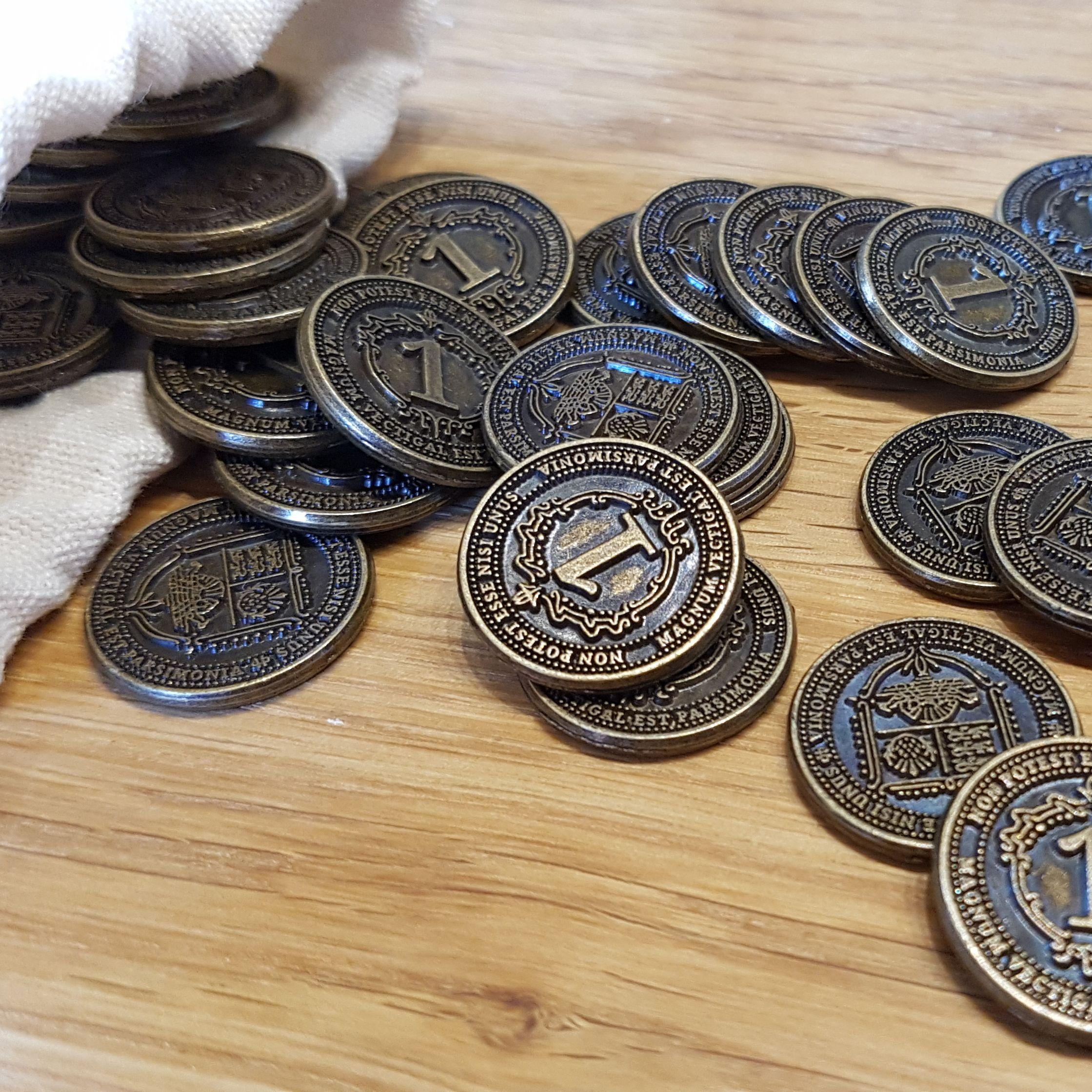 Die ersten Fotos der Goldmünzen (Erweiterung)