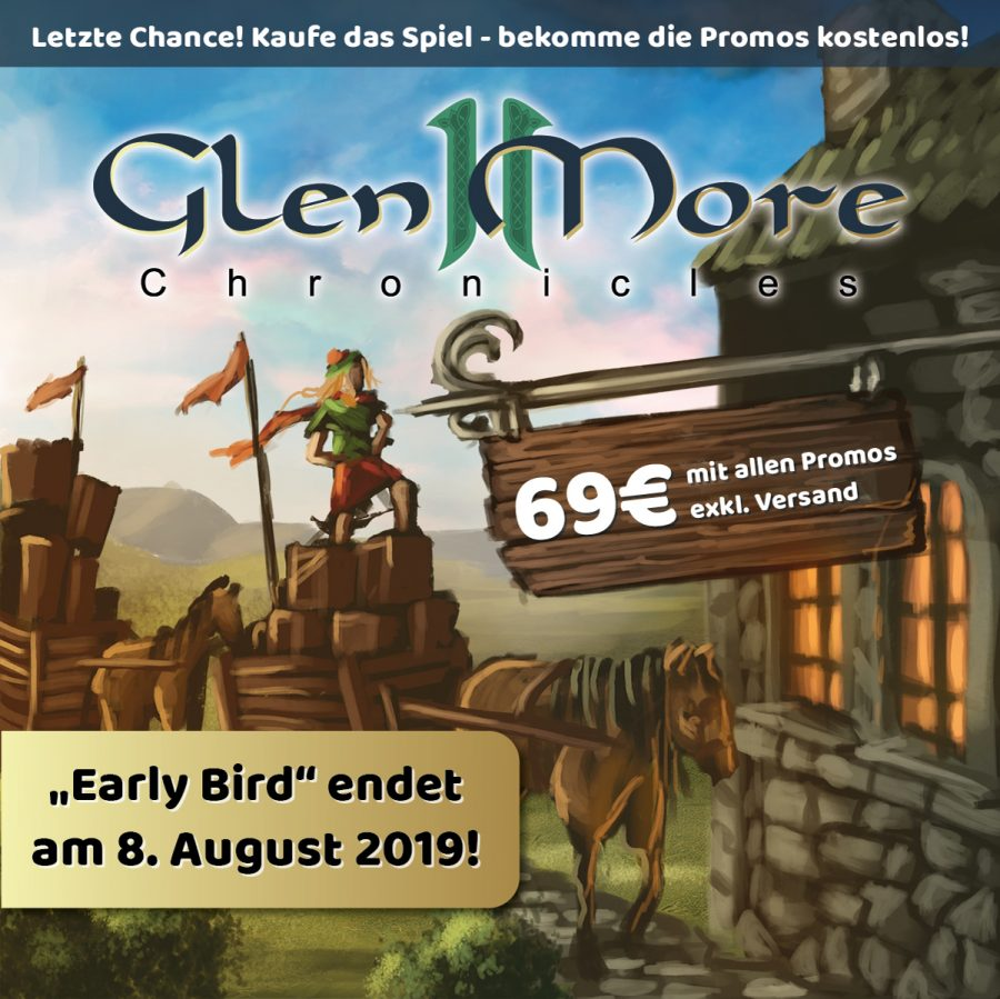 """Glen More II Chronicles"" im Early-Bird-Angebot!"