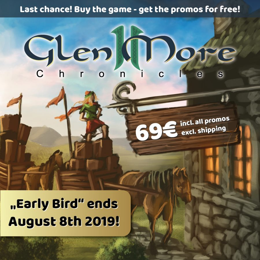 """Glen More II Chronicles"" on the Early Bird offer!"