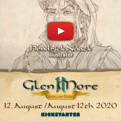 The Illustrations of Glen More II: Highland Games