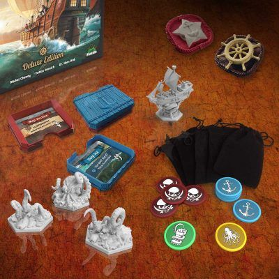 Social Deduction with DELUXE game components!