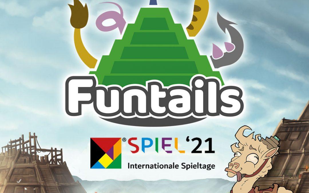 Funtails at SPIEL'21 in Essen!