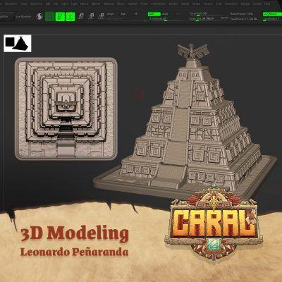 3D Modeling for Caral
