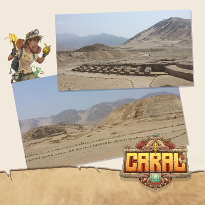 Funtails supports the Caral excavation site