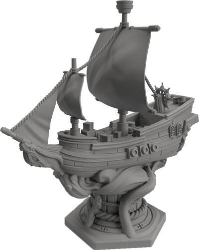 Feed the Kraken Ship Miniature