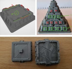 Player Pyramids 3D Modeling Kickstarter Caral Prototyping