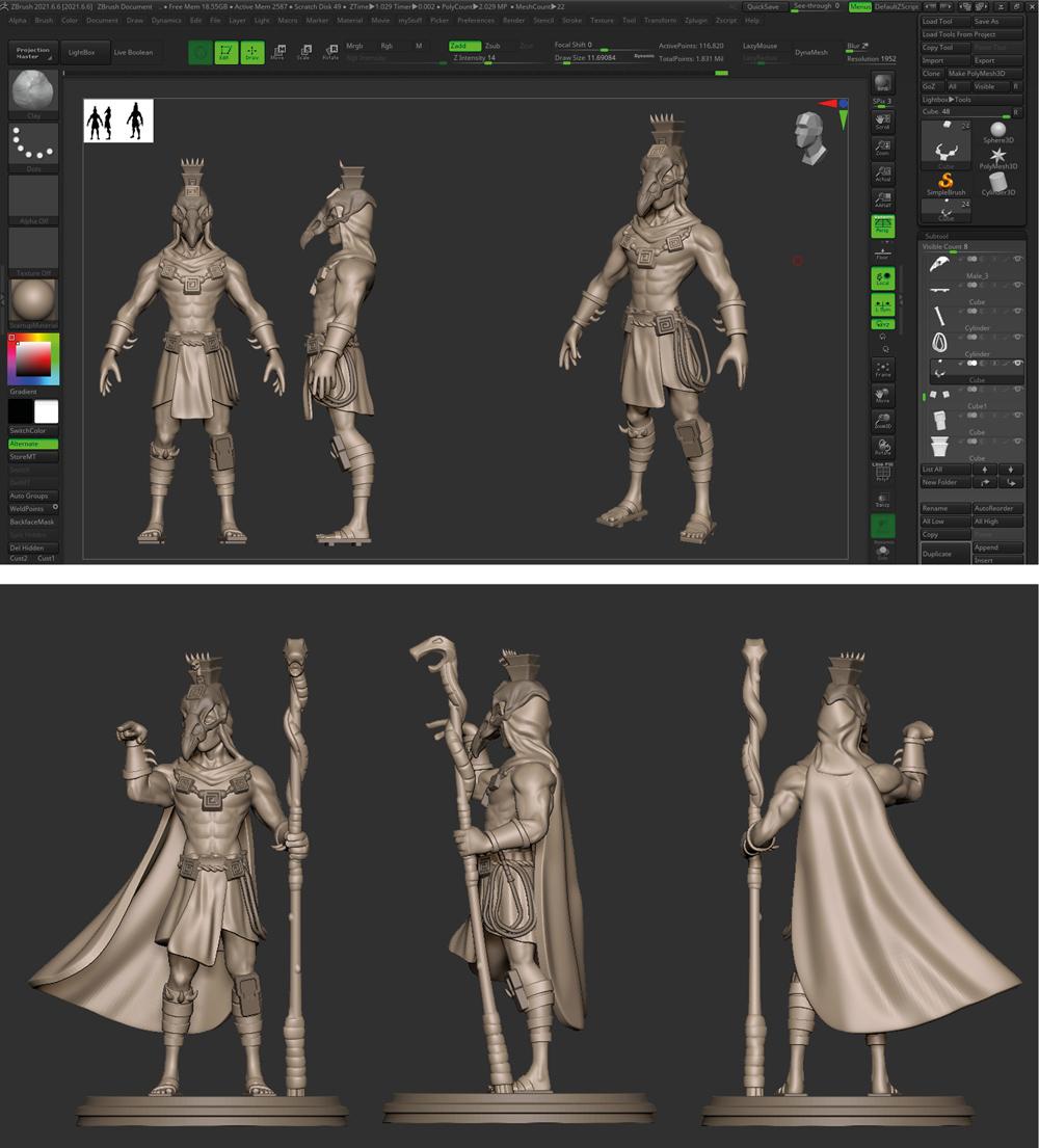Progress 3D Modelling Prototyping